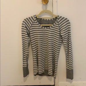 Striped Lululemon Long Sleeve Size 6